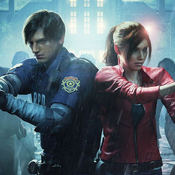 Leon Kennedy and Claire Redfield from Resident Evil 2 would make great halloween costumes