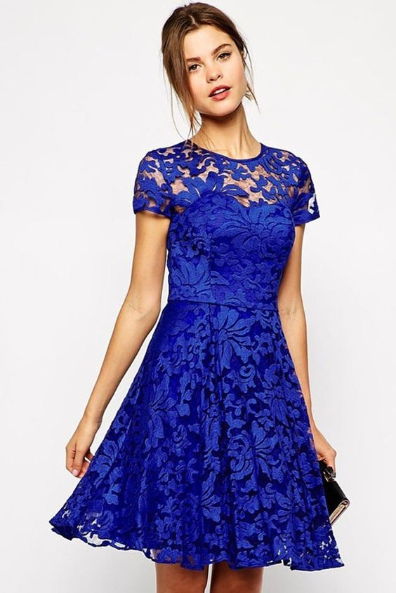 Sexy Blue Clothes