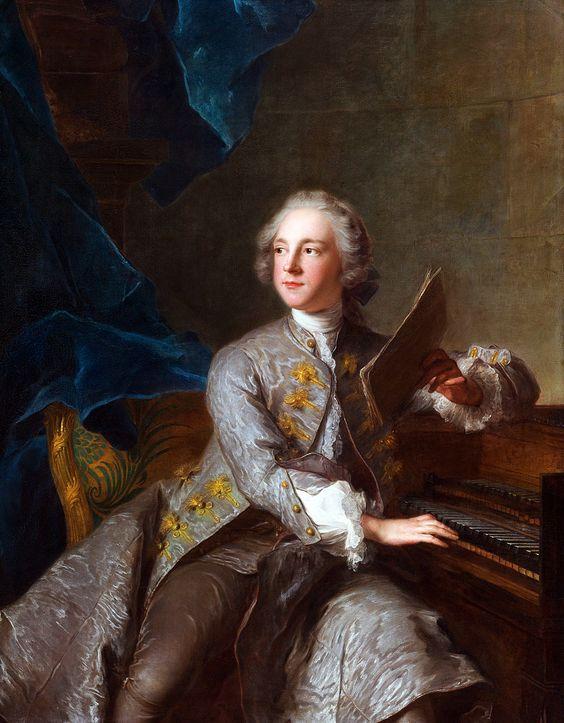 Jean-Marc Nattier (1685-1766): Portrait of Francis Greville, Baron Brooke, later 1st Earl of Warwick (1719-1773).: