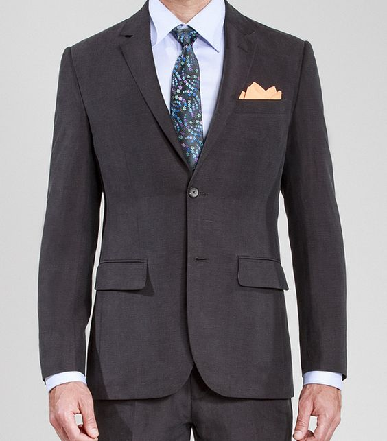 Costume Mode Noir http://fr.ownonly.com/product/329-classic-dark-grey-summer-suit