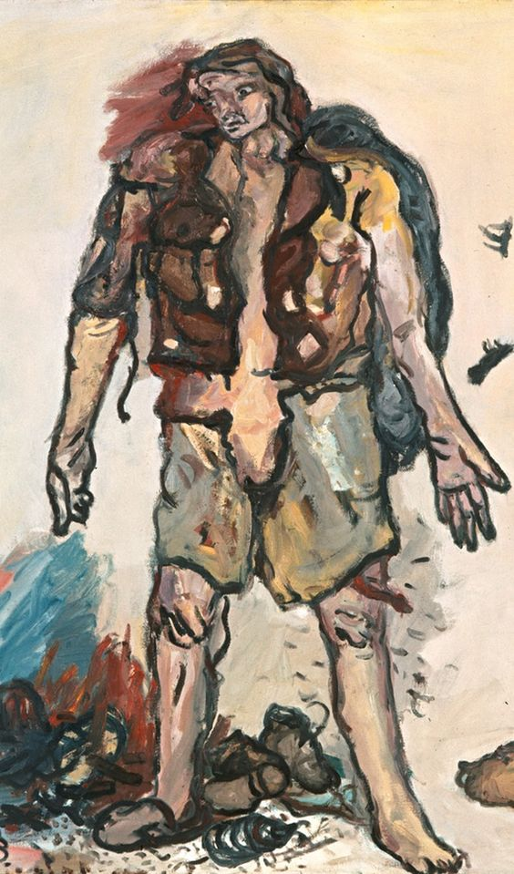 Partisan, 1965, by Georg Baselitz
