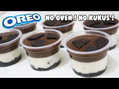 Resep Puding Oreo Coklat Lumer Oreo No Bake Dessert Youtube Puding Cemilan Resep
