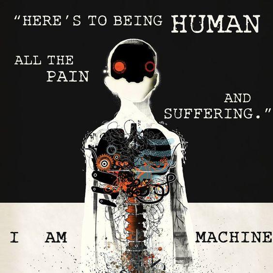 I Am Machine - Human Three Days Grace