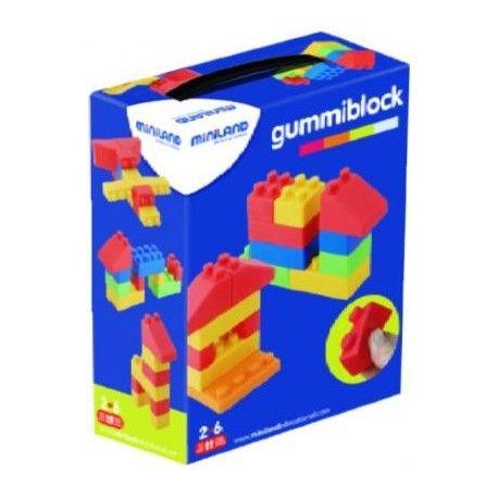 Gummi Blocks 19 Peças. Brincar e Aprender. Brinquedos didácticos para crianças www.planetadidactico.com