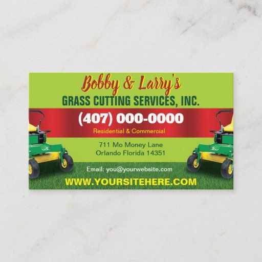 Pin On Landscaping Business Cards