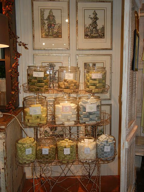 Soap Display  @Restoring Style wendy umanoff, what do you think??