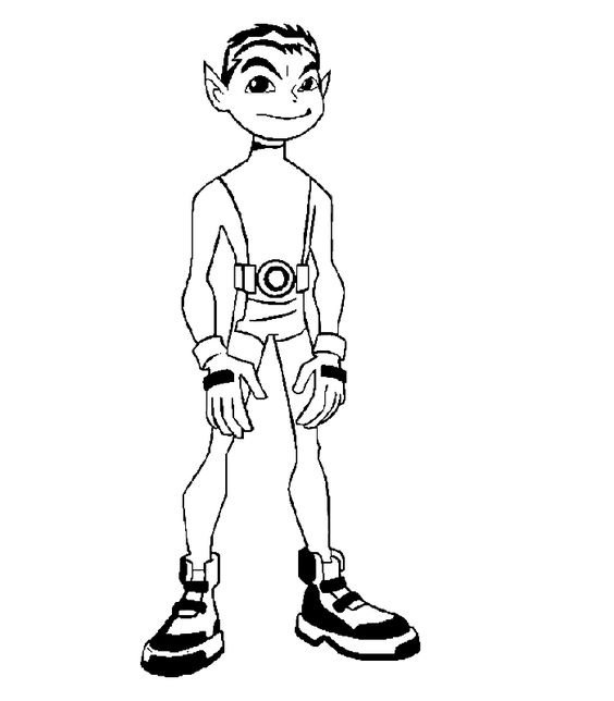 teen titans beast boy drawing Google Search draw
