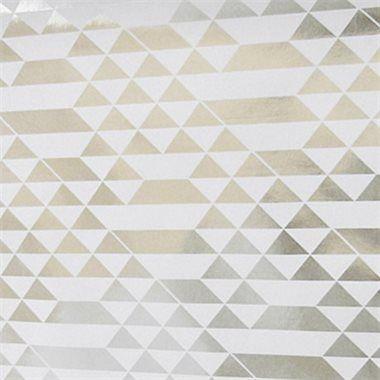 Papier peint teepee teepees angles and silver - Papier peint geometrique ...