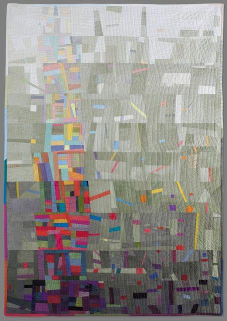"""Cecilia Koppmann  """"LA TORRE DE BABEL"""" International Quilt Festival Houston 2012"""