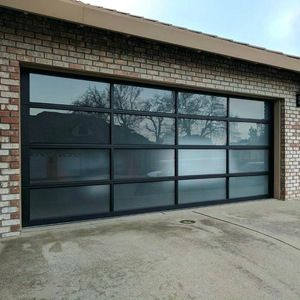 Source Low Price Residential Horizontal Aluminum Glass Sectional