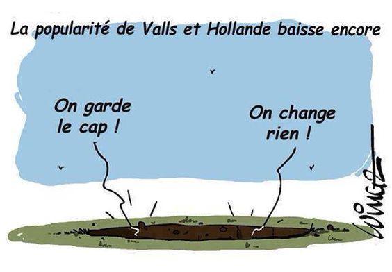 Valls et Hollande