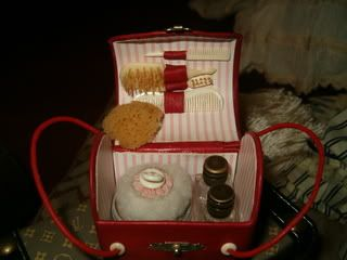 French Fashion Doll Necessaire