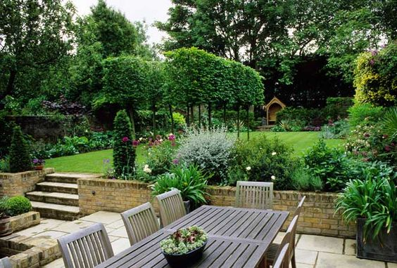 sometimes it seems hard to live large in a small space but you dont have to sacrifice sophistication to live small a yard or garden of any size