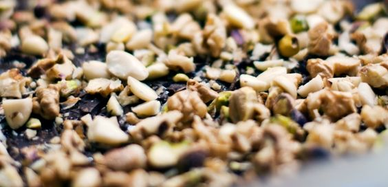 The lunatics are running the asylum in this brownie recipe featuring pistachios, walnuts and almonds.