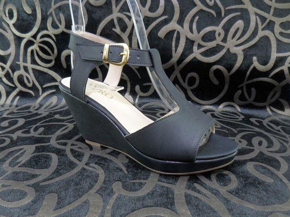 Sandalia alta dama