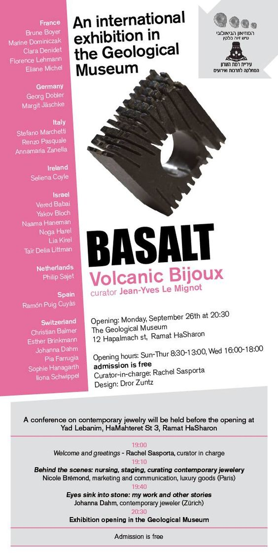 BASALT- Volcanic bijoux -  Soon in the Geological Museum. :