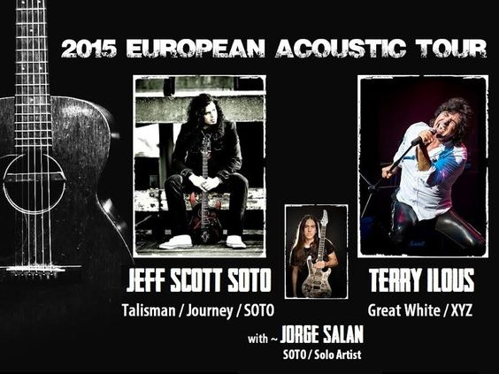 Entradas para Jeff Scott Soto + Terry Ilous + Jorge Salán en Barcelona el 13 de febrero 2015 en notikumi