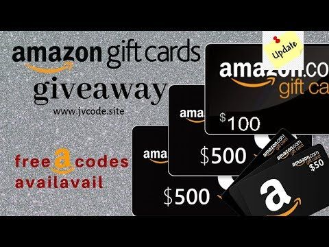 Updated How To Get Free Amazon Gift Card Codes Free Amazon Gift Cards Amazon Gift Card Free Amazon Gift Cards Amazon Gifts