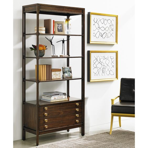 Stanley Furniture Crestaire Welton Bookcase | From Hayneedle.com