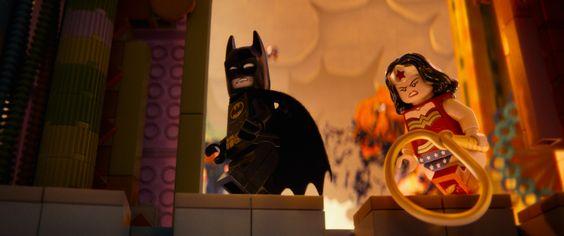 Los superhéroes no podían faltar en #LaLEGOpelicula Batman, Superman y Wonder woman no se lo han querido perder.