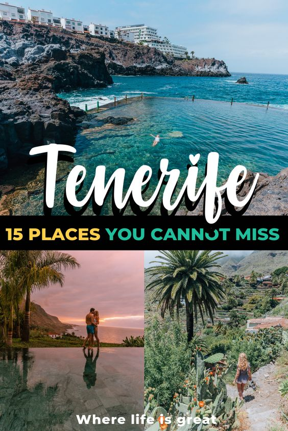 How to spend 5 incredible days in Tenerife - Where life is great #tenerife