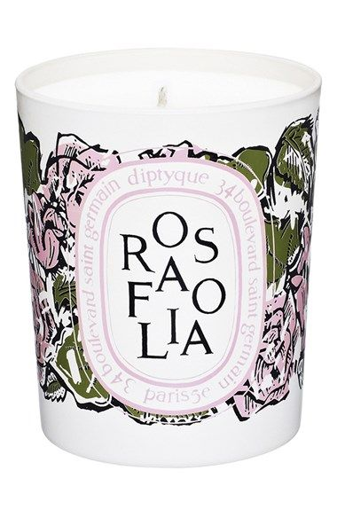 diptyque 'Rosafolia' Candle (Limited Edition) at Nordstrom.com.