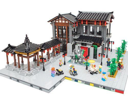 Imgp5424 Lego Ninjago City Lego Modular Lego Display