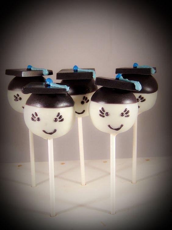 Graduation cake pops, Graduation and Graduation cake on ...