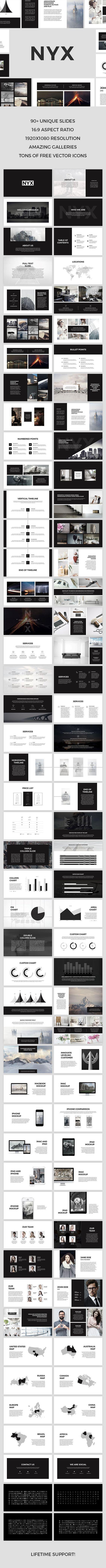 Nyx Keynote Template — Keynote KEY #best keynote templates #business • Download ➝ https://graphicriver.net/item/nyx-keynote-template/18918442?ref=pxcr