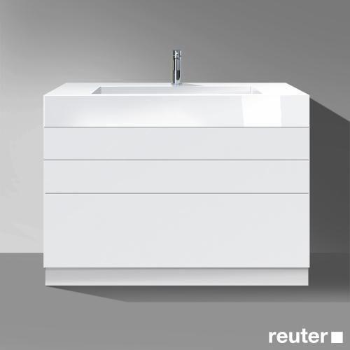 Burgbad Crono Waschtischunterschrank 3 Auszuge Waschtisch Weiss