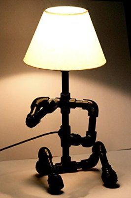 Marical Robo Boy Industrial Table Lamp