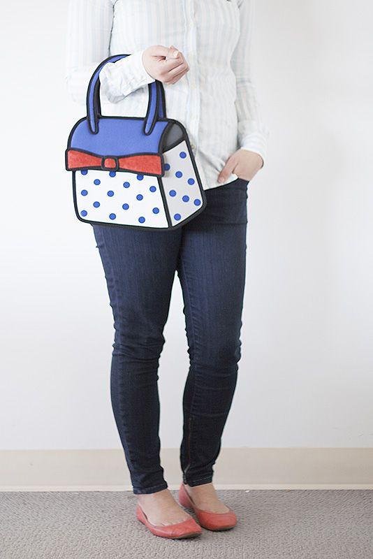 Jump From Paper handbag!