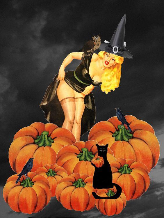 Halloween Pin Up Girls - pin-up-girls Photo