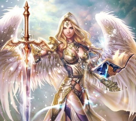 Guardian angels, Wallpapers and Fantasy on Pinterest