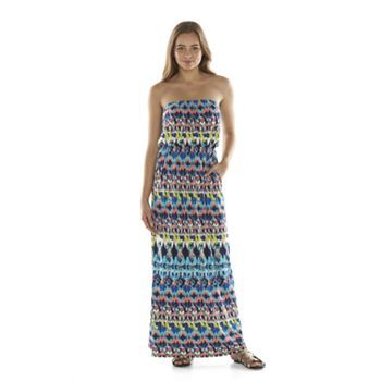 Strapless Maxi Dress Juniors