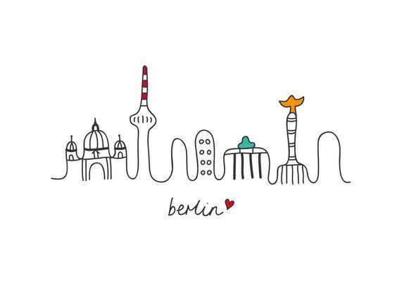 Fernsehturm Berlin Ausmalbild - Best Style News and