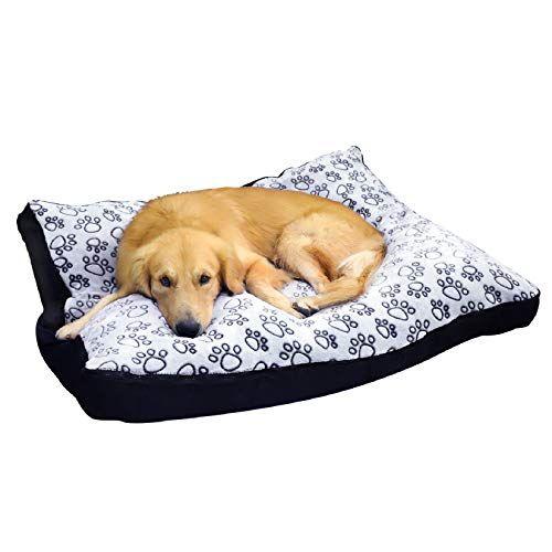 Bingopaw Waterproof Dog Bed Extra Large Washable Mat Jumbo Big Pet Xxxl Faux Suede Plush Dog Bed Cushion Washa In 2021 Waterproof Dog Bed Dog Bed Cushion Plush Dog Bed