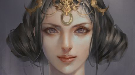Fantasy woman portrait 05