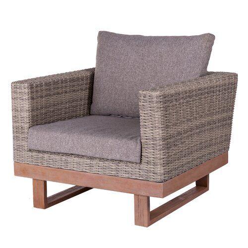 Loungesessel Niki Mit Polster Garten Living Farbe Gestell Grau
