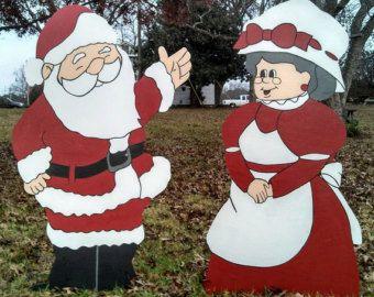 Yard Art Decorations Christmas