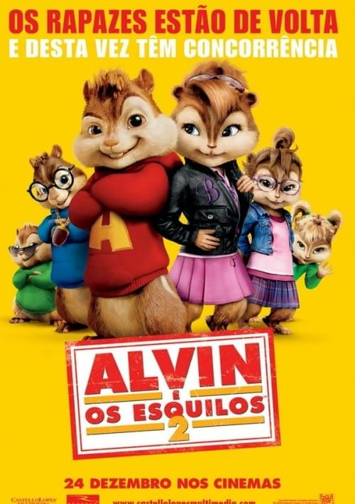 Alvin And The Chipmunks The Squeakquel Film Cmplet Ita With