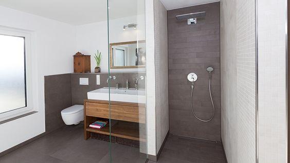 Badezimmer » Badezimmer Fliesen Grau Braun - Tausende Fotosammlung ... Bad Braun Grau