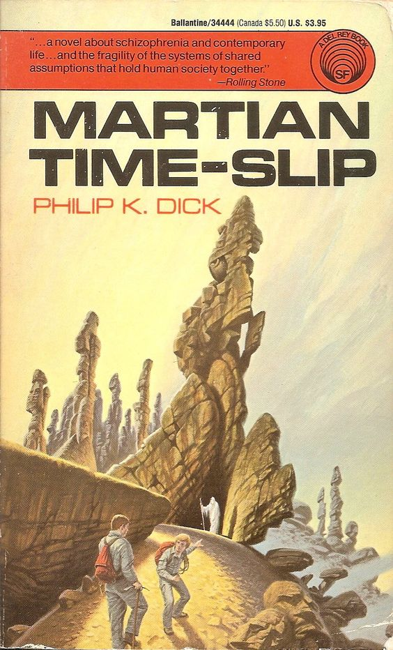 Martian Time-Slip - Philip K. Dick, cover by Darrell K. Sweet