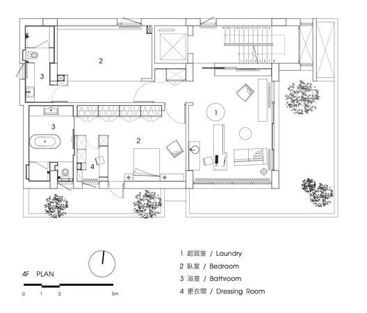 Gallery Of House No 46 Fchy Architect Lab 28 Floor Plans House Floor Plans Architect