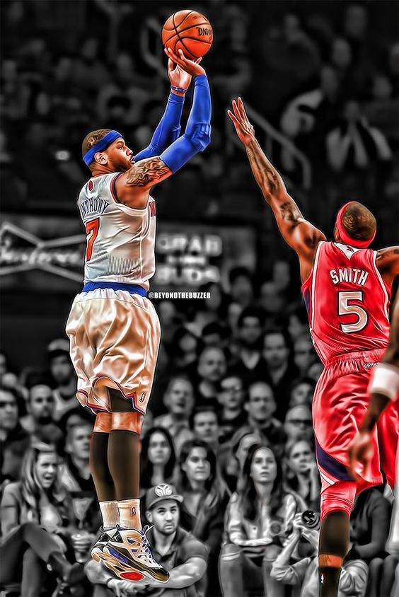 Carmelo Anthony (Knicks vs Hawks)