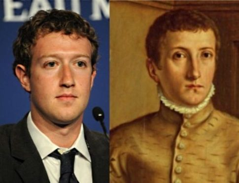 Image result for Mark Zuckerberg David Rockefeller