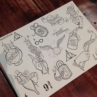 Flash Sheet Harry Potter Google Search Harry Potter Drawings Harry Potter Tattoos Harry Potter Tattoo
