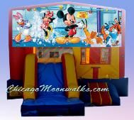 3 in 1 Mickey Mouse Combo Bounce house. For your next birthday party