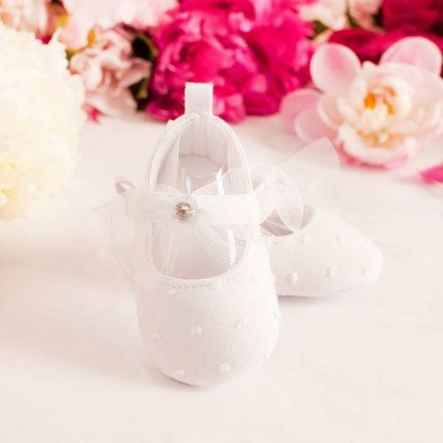 Buciki Na Chrzest Sw Dla Dziewczynki Wedding Sneaker Dance Shoes Wedding Shoe
