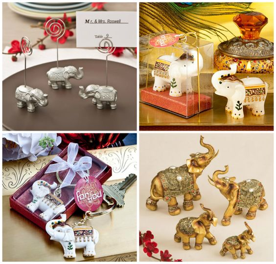 Elephant Shaped Party Favors from HotRef